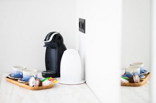 servicio de cafe incluido en habitacion